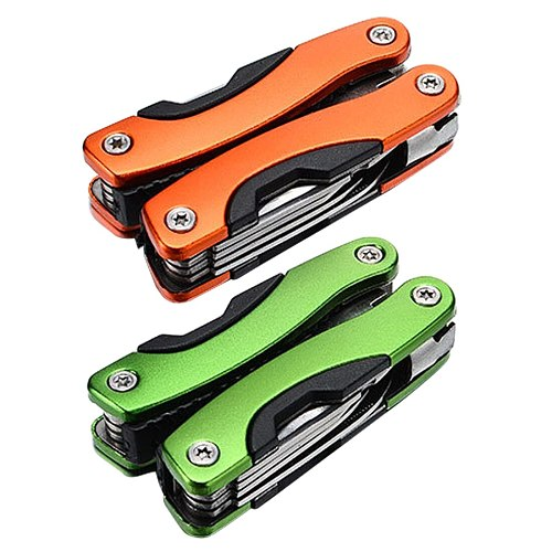 Folding saber technology pliers set Multifunctional outdoor 8 IN 1 Outdoor Multitool Pliers Serrated Knife Jaw Hand Tools