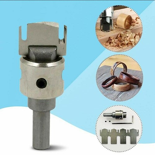 Multifunction Wooden Thick Ring Maker High Speed Steel Drill Wood Tools Spade Drill Bits Household Garden Tools Grinding Tool