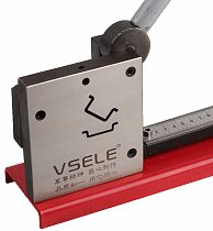 multifuntional din rail cutter cutting 2 kinds of din rail, easy cut with measure gauge