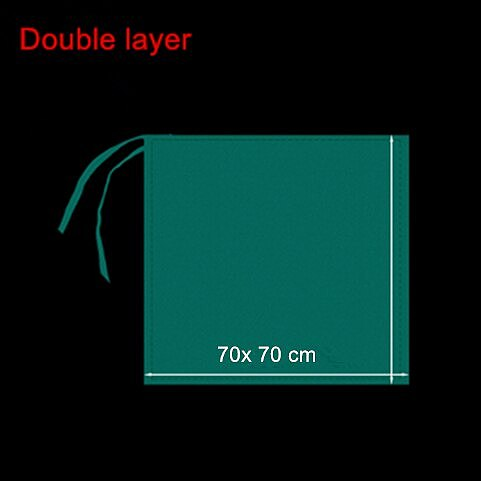 5pcs cottom drapes Double layer Reusable Plastic Surgical drape with string for face aesthetics skin care use