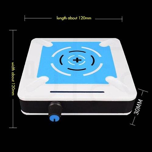 220V Portable Magnetic Stirrer Hotplate 85x85mm, 0-2500RPM,1L, Stepless Speed Regulation Magnetic Mixer Plate for Laboratory