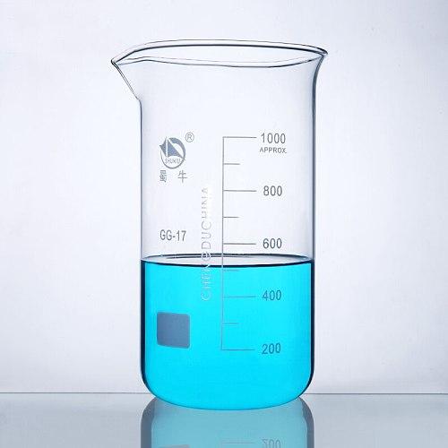 50-1000ml Borosilicate Graduated Glass Beaker in tall form glass measure cup Laboratory Equipment
