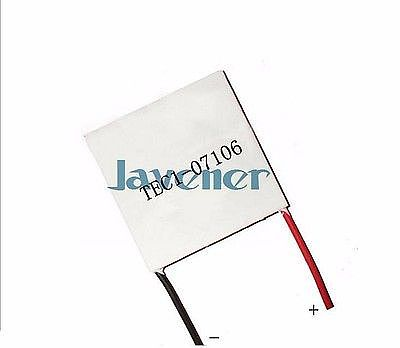 TEC1-07106 Heatsink Thermoelectric Cooler Peltier Cooling Plate 8.5V 6A 30x30mm Refrigeration Module