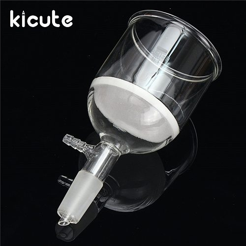 Kicute Overvalue Filter Funnel Buchner 24/40 Joint Buchner Glass Funnel 350ml Lab Glassware Chemistry Supplies