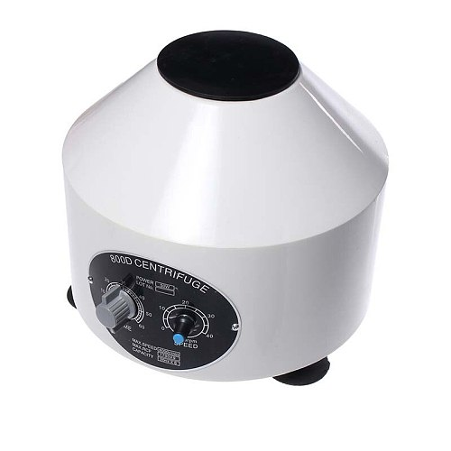 Mini 4000RPM Laboratory Electric Centrifuge Medical Practice Machine Lower-speed Desktop Centrifuge With Timer