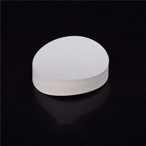 Wholesale 100PCS/bag 9cm Laboratory filter paper Circular Qualitative filter paper medium speed Funnel filter paper