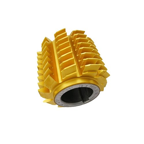 M0.5/M0.6/M0.7/M0.8/M1.0/M2.0/M3.0M/M4.0 modulus PA 20 degrees HSS Titanium coating Gear hob Gear cutting tools Free shipping