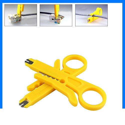 Cutter Cable Electrician Tools Simple Mini Plier Practical Punch Down Network UTP Cable Cutter Hand Tools