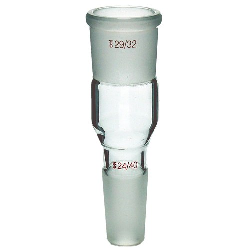 Deschem Lab Glass Enlarging Adapter,Joint Male 24/40 Female 29/32