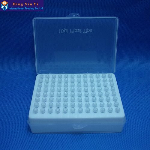 Free shipping Plastic Pipette box 96vents box + 96pcs 10ul pipette tips
