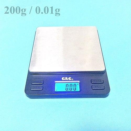 Portable Mini Electronic Balance 200g / 0.01g Gold Jewelry Pocket Postal Kitchen Jewelry Weight Balance Digital Scale