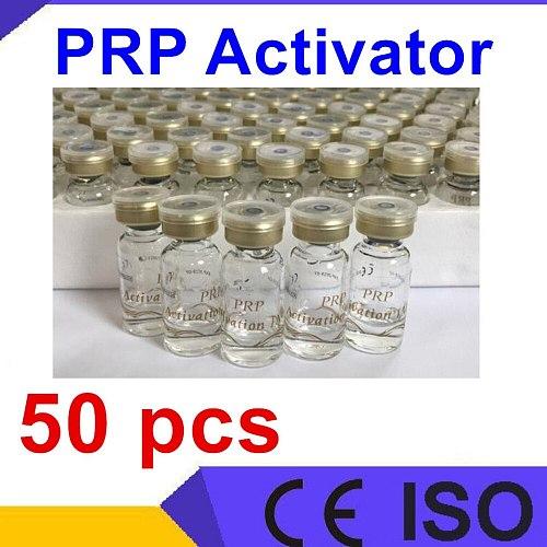 10 pcs 1ml bottle biotin PRP activator tube solution, prp activation Calcium chloride prp tube biotin