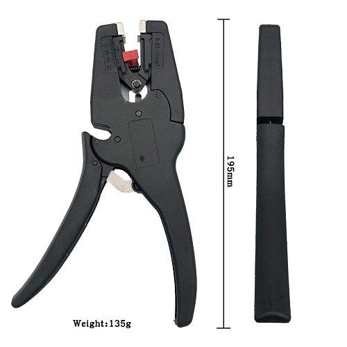 Self-Adjusting Insulation Wire Stripping Pliers WX-D3 Range 0.08 - 6mm High Quality Cutter Clamp Cutable 0.06 - 2.5mm Tool
