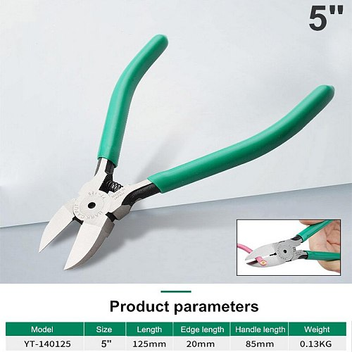 5 /6  Cutting Pliers Plastic Side Cutter Diagonal Pliers Cable Cutters Electrician Hand Tools