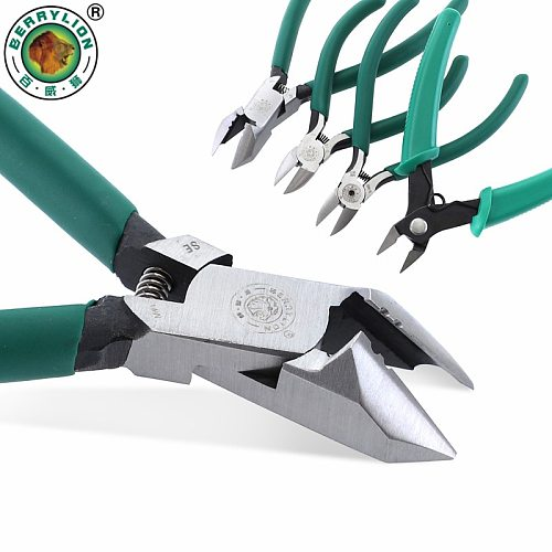 Side Cutter 5 inch 6 inch Mini Diagonal Pliers High-Carbon Steel Wire Stripper Electrician Cable Cutter Hand Tools