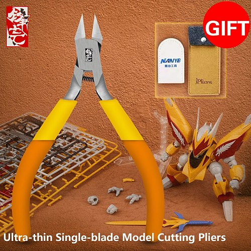 Ipliers5.9 inches edge super thin single edged cutting pliers sharp cut pliers god hand gold medal pliers Gundam Model nipper