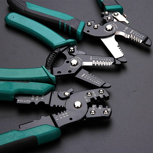 Multitool pliers Crimping Pliers wire stripper Multi functional Snap Ring Terminals Crimpper Crimping pliers Decrustation Pliers