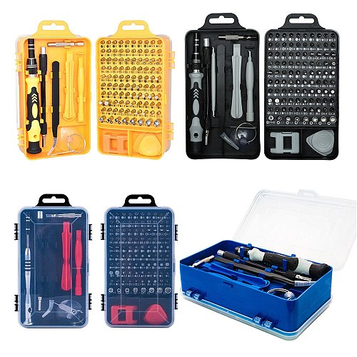 Multi Screwdriver Set  Bit 115/52 in 1 Hand Tool Screwdrivers For Computer PC Watch Phone Repair Tools