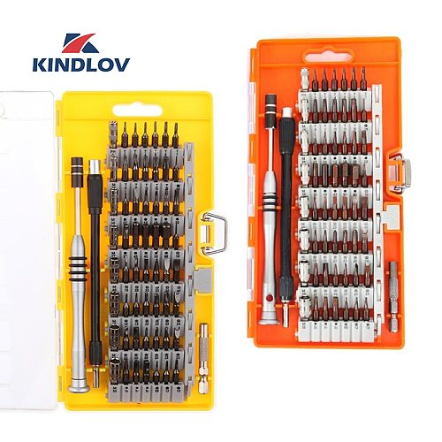 KINDLOV Screwdriver Set Magnetic 60 In 1 Destornillador BIt Kit Precision Torx Hex Phillips Screw Driver Multitools Hand Tools