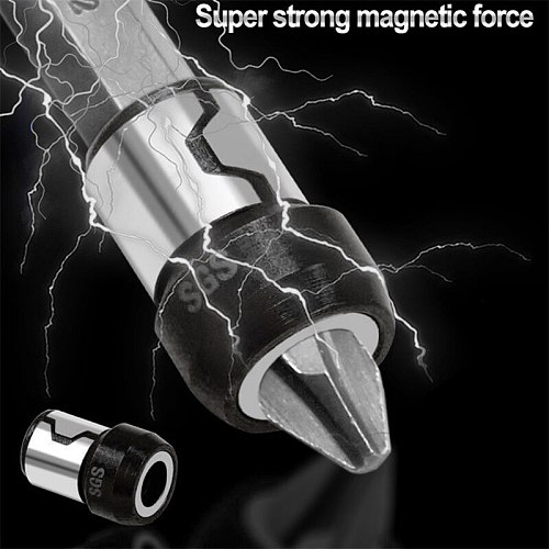 Magnetic Ring Alloy Electric Magnetic Ring Screwdriver Bits -Corrosion Strong Magnetizer Phillips drill bit Magnetic Ring