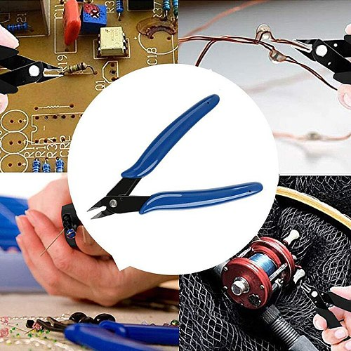PLATO 170 Wishful Clamp DIY Electronic Diagonal Pliers Side Cutting Nippers Wire Cutter PLATO170