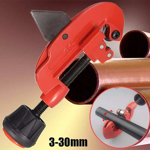 Pipes Tube Cutter Cutting Tool 18cm Adjustable Copper Vinyl Brass For 3mm-30mm G type Tube Knife Cut Plumbing Tool