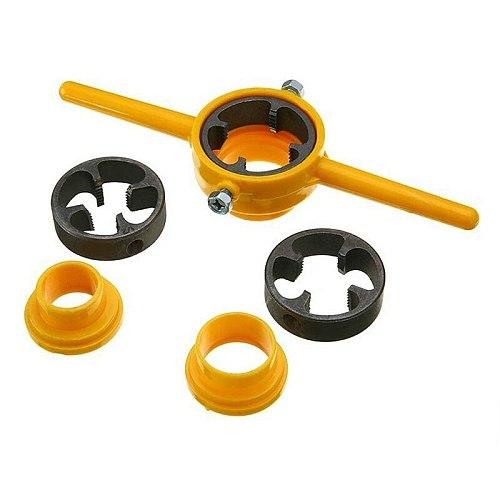 New 6X Npt Die Pvc Thread Maker Sizes 1/2inch 3/4inch 1inch Pump Pipes Hand Tool Tarraja Tubo