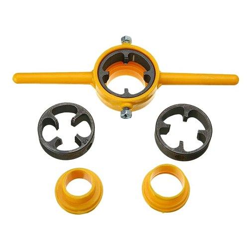 SHGO HOT-6X Npt Die Pvc Thread Maker Sizes 1/2inch 3/4inch 1inch Pump Pipes Hand Tool Tarraja Tubo