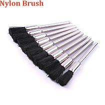 10Pcs Dremel Accessories Nylon Dremel Wire Brush 3mm Shank Polishing Brush Buffing Wheel Nylon Brushes For Dremel Rotary Tools