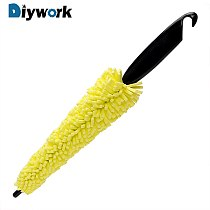 DIYWORK Car Wash Sponges Car Wheel Brush Wheel Rims Tire Washing Brush Auto Scrub Brush Tools Vehicle Cleaning Brush