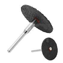 100pcs/Set 32mm Cutting Disc Cut-off Wheel + 2pcs 3.0mm Connecting Rods Cutting Wheel Discs Mandrel Cut Off