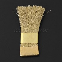 Nail Drill Bits Cleaning Brush Copper Wire Brushes For Electric Manicure Brusher Drop Shipping