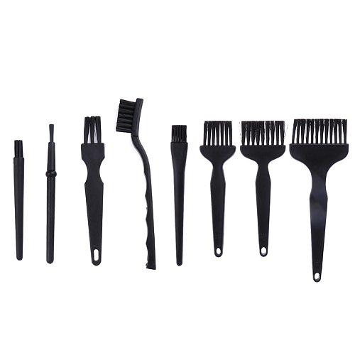 8pcs/set Anti Static Brush rework Anti-static Brush PCB Cleaning Tool ESD PCB brush Electronic component Cleaning tools good