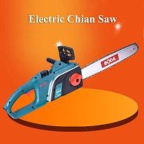 Electric Chain Saw 220V 16 Inch High Power Felling Saw Chain Saw Cutting Saw Woodworking Electric Tool CS9-405