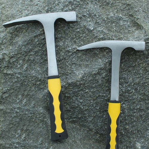 Shock Reduction Edge Sharpness Geological Petrographic Grip Geological Hammer Rock Pick