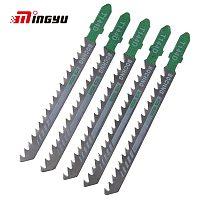5pcs Wood Curve Cut Saws Jigsaw Sabre Curve Saw Blades for Home DIY Woodworking Plastic Jigsaw Blades Tools