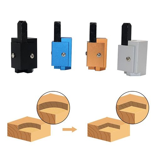 Right Angle Punching Quick Cutting Corner Square Chisel Metal DIY Carpentry Furniture Hinge Door Lock Woodworking Carving Tools