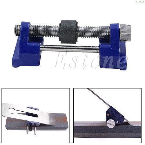 94mm Wood Chisel & Plane Iron Planers Honing Guide Sharpening Blades Tool New   M12 dropship