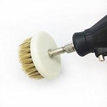 YEODA 55mm Drill Powered Scrub Heavy Duty Cleaning Brush Tools Damom