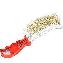 1PC Durable Stainless Steel Wire Brushes with Handle Rust Cleaning Brush Cleaning Polishing Tools