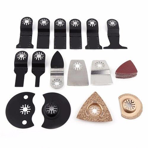 Hot 40pcs/set Oscillating Hole Saw Wood Blades Power Tool Bits Accessories Mix Oscillating Blade Kit