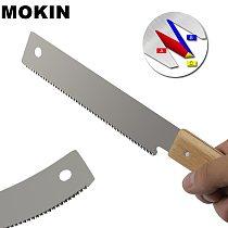 12'' Mini Hand Saw Flush Cut Saw 3-edge Teeth Wood Tenon Saw Fine Tooth Japanese Saw For Woodworking Wood Cutting Tools