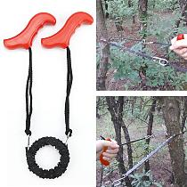 Woodworking Pocket Hand Chainsaw Heavy duty Manganese Survival Wire Saw Camp Hike Fish Tool Cut Cutter Wood Forest
