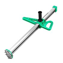 Manual Portable Gypsum Board Cutter Stainless Steel Woodworking Hand Push Drywall Cutting Artifact Tools