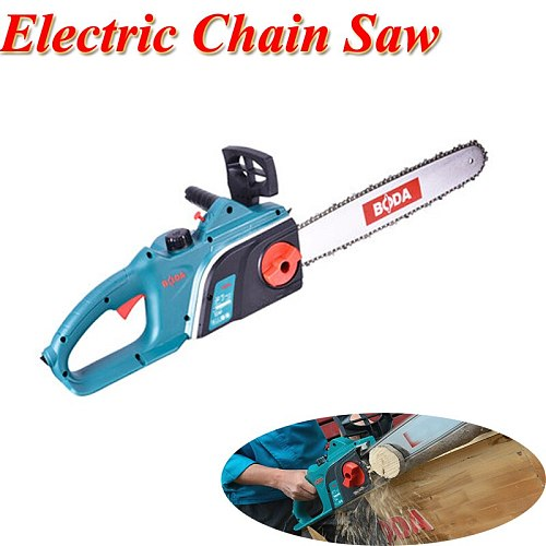 Electric Chain Saw 220V 16 Inch High Power Felling Saw Chain Saw Cutting Saw Woodworking Electric Tool CS9-405
