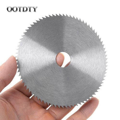 OOTDTY 4 Inch Ultra Thin Steel Circular Saw Blade 100mm Bore Diameter 16/20mm Wheel Cutting Disc For Woodworking Rotary Tool