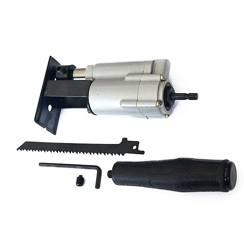 New Reciprocating Saw Attachment Change Electric Drill Into Reciprocating Saw Jig Saw Metal File For Wood Metal Cutting