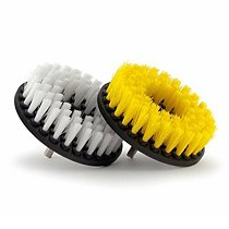2pc Set Cleaning Drill Brush Kit Carpet Tile Power Scrubber Cleaner Attachment