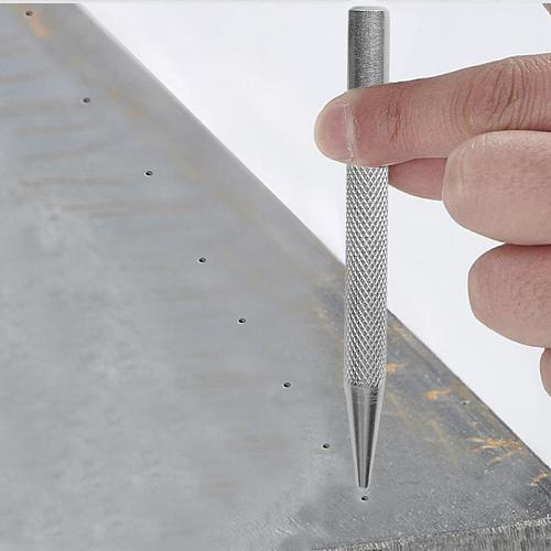 Automatic Center Pin Punch High Hardness and Toughness Strike Marking Starting Holes Tool Chisel Steel Punch for Fitter