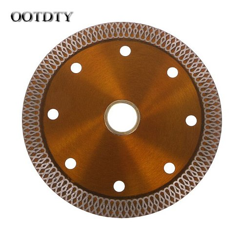 OOTDTY Diamond Saws Blade Hot Pressed Sintered Mesh Turbo Cutting Disc For Granite Marble Tile Ceramic